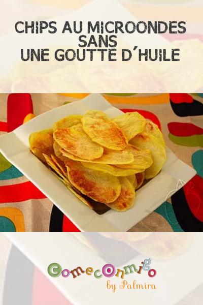 CHIPS AU FOUR SANS UNE GOUTTE D'HUILE
