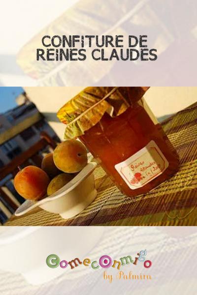 CONFITURE DE REINES CLAUDES
