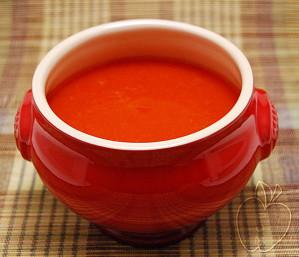 Copie de Soupe tomate poivron rouge