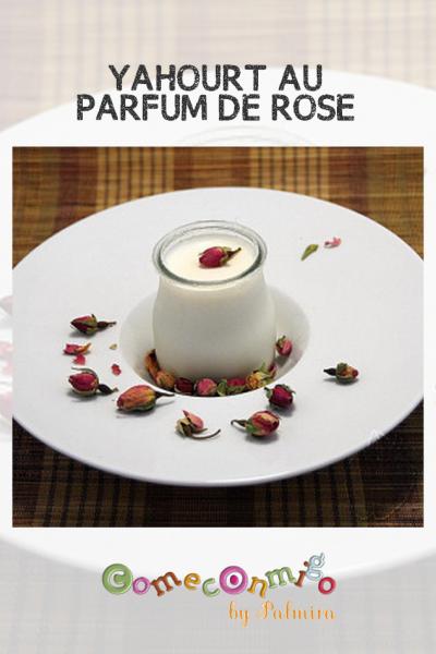 YAHOURT AU PARFUM DE ROSE