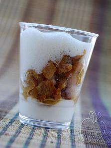 Copie de Ananas caramélisé espuma rhumée (4)