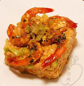 Crevettes au citron confit et son risotto de tête-copia-1