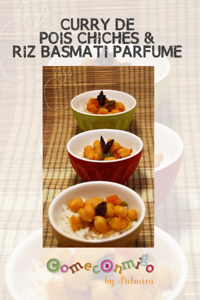 CURRY DE POIS CHICHES & RIZ BASMATI PARFUMÉ