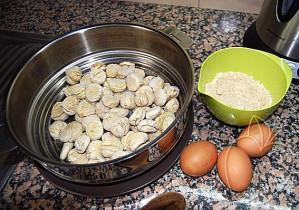 Gnocchis de castaña con su salsa de ceps (4)