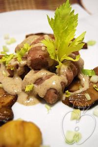 Gnocchis de castaña con su salsa de ceps (46)