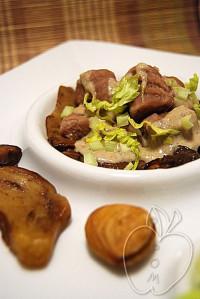 Gnocchis de castaña con su salsa de ceps (62)