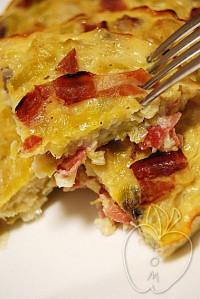 Quiche de jamón y puerros sin masa (16)