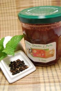 Mermelada de fresas menta y pimienta (2)