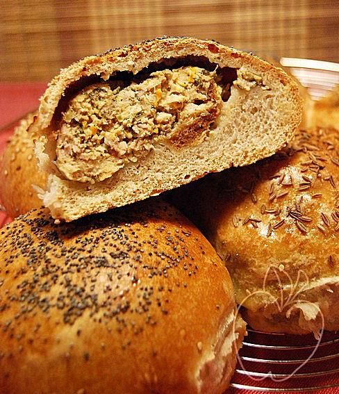 Pan relleno para un picnic (44)