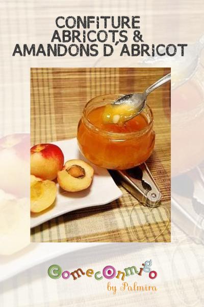 CONFITURE ABRICOTS & AMANDONS D'ABRICOT