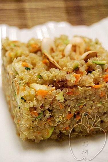 Falso tabulé de quinoa con agua de flor de azahar (2)