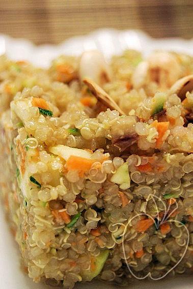 Falso tabulé de quinoa con agua de flor de azahar (5)
