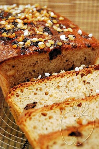 Pan de molde de chocolate y naranja confitada (14)