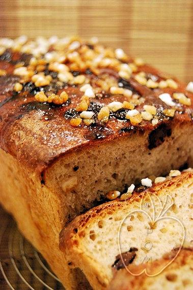 Pan de molde de chocolate y naranja confitada (17)