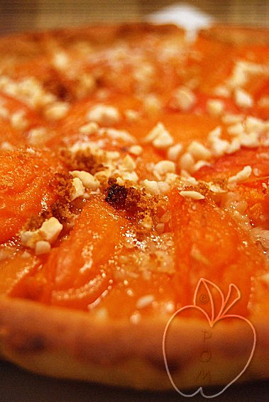 Tarta de albaricoques sin gluten (4)