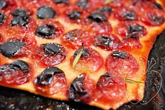 Pizza de uvas y aceite (dulce) (14)