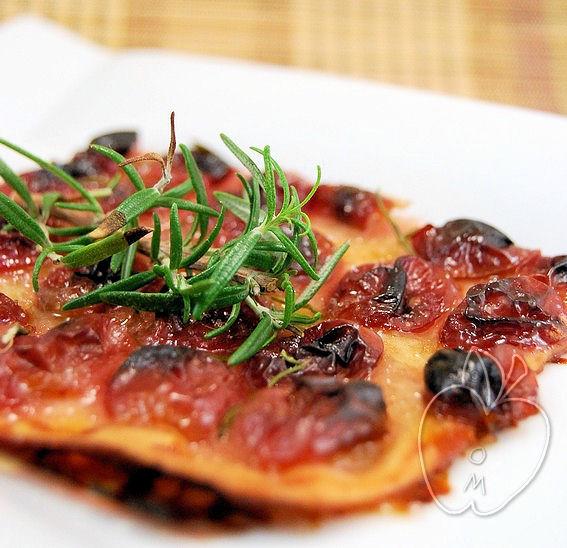 Pizza de uvas y aceite (dulce) (26)
