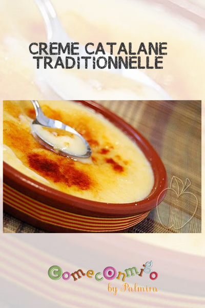CRÈME CATALANE TRADITIONNELLE