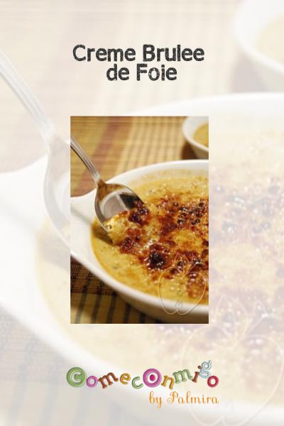 Crème brûlée de Foie