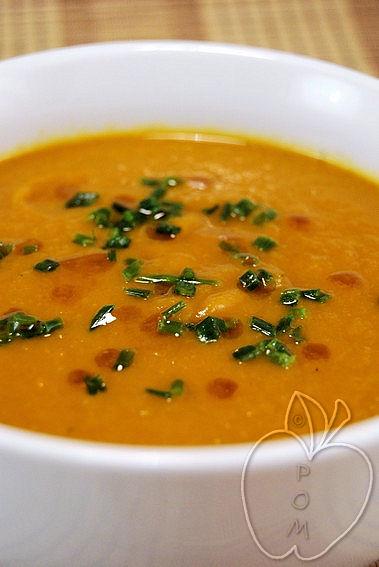 Crema de Zanahoria al miso (3)