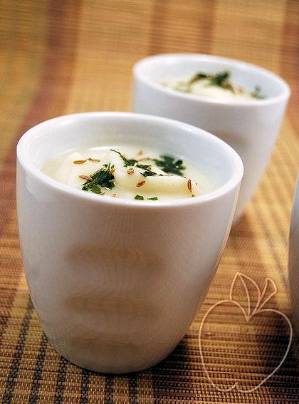 Crema de coliflor y leche de coco (10)