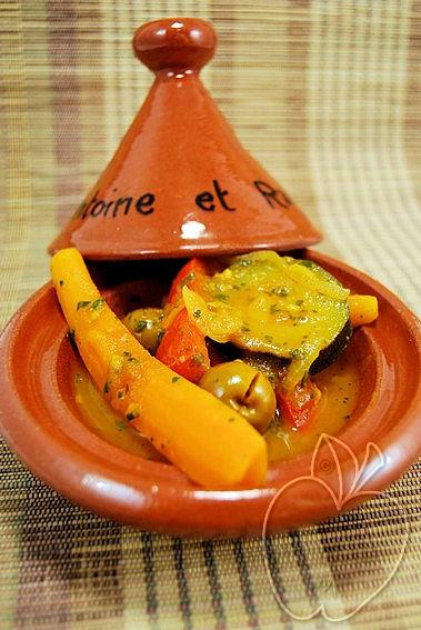 Tagine de verduras al estilo de Marruecos (7)