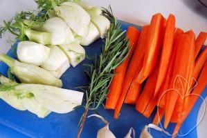 Asado de pavo con hinojo y zanahoria (2)