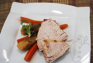 Asado de pavo con hinojo y zanahoria (30)