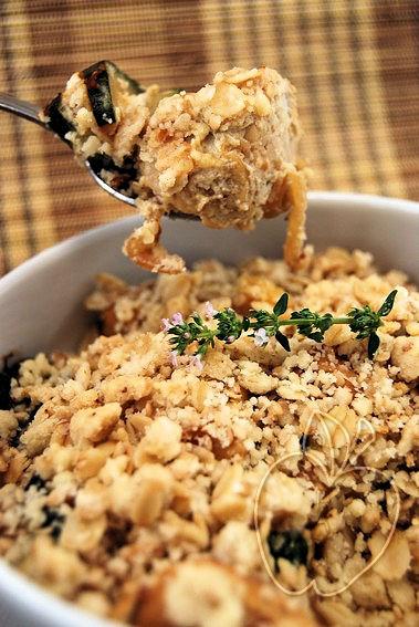 Crumble (salado) de pollo y calabacín (19)