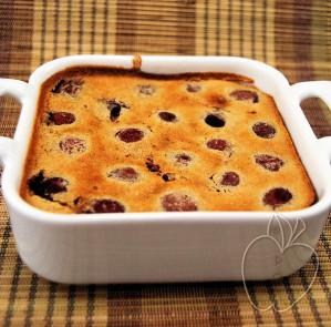 Clafoutis de cerezas sin gluten (1)
