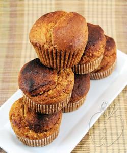 Muffins integrales de mijo y miel (9)