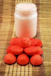 Yogur de caramelos de fresas (2)