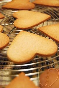 Galletas corazón con harina de casataña (4)