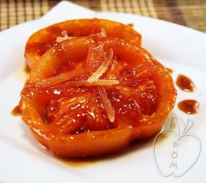 Tomates marinados con miel y jengibre (2)