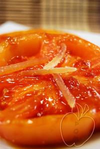 Tomates marinados con miel y jengibre (6)