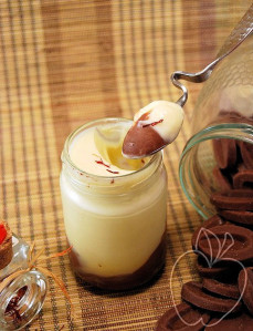 Yogur de trufa y azafrán (14) - copia