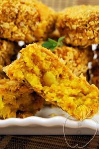 Croquetas de coliflor y patatas con copos de maíz (11) - c
