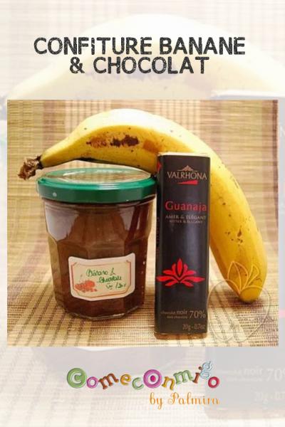 CONFITURE BANANE & CHOCOLAT