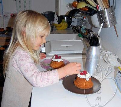 Polyanna y el bundt cake de nata montada (2)