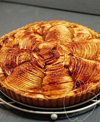 Tarta de manzana con masa de aceite de oliva y mistela (19)