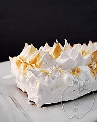 Tarta de manzana y almendra con merengue (5)