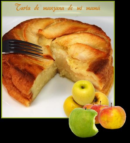 Montage tarta de manzana