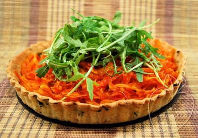 Tarta de zanahoria, rúcula y jengibre (18)