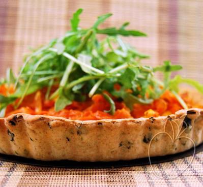 Tarta de zanahoria, rúcula y jengibre (23)