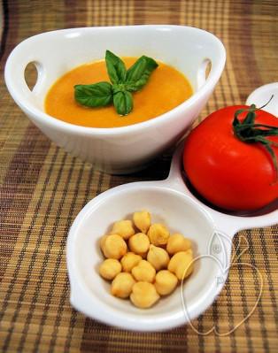 Crema de tomates y garbanzos (11)