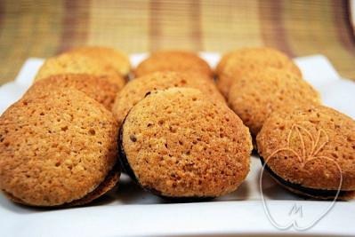 Galletas de avellana rellenas de chocolate (4)