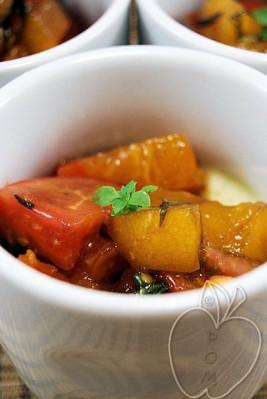 Tomate con mozzarella destructurado (8)