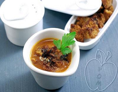 Crema de tomate y sardinas (8)