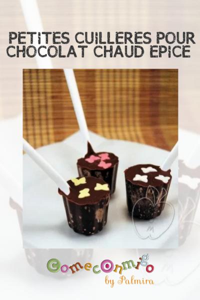 PETITES CUILLERES POUR CHOCOLAT CHAUD EPICE