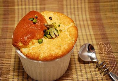 Soufflé de sémola de arroz y flor de azahar (3)
